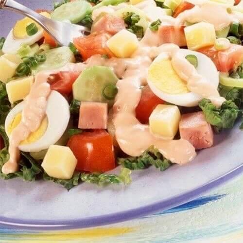 Şef-aşbaz salatı