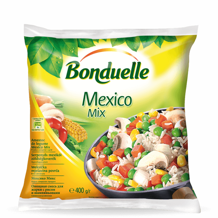 Meksička mješavina, brzo smrznuta