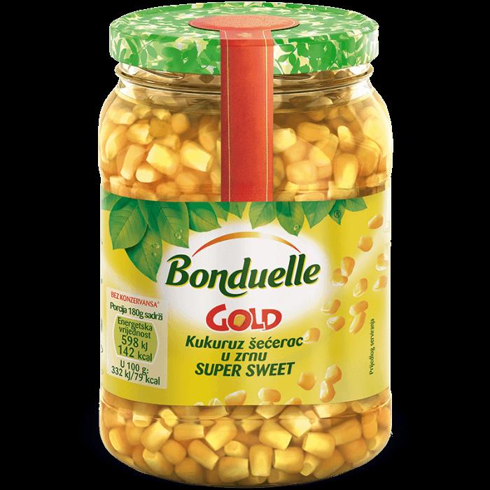 """Slatki kukuruz u zrnu GOLD """"SUPER SWEET"""""""