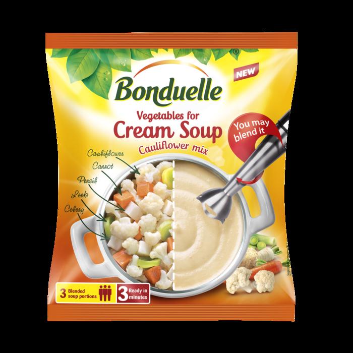 Mješavina povrća za krem supu od karfiola