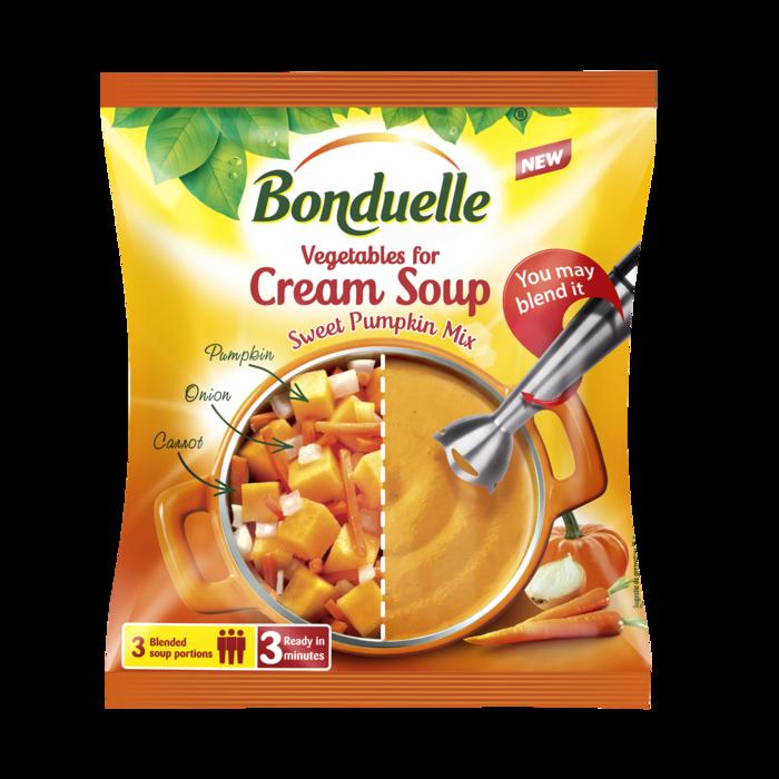 Mješavina povrća za krem supu od bundeve