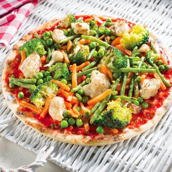 """Pizza """"Proljetno povrće"""""""