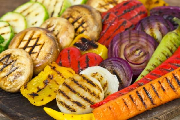 Рецепти със зеленчуци и салати. Идеи за здравословно хранене на грил
