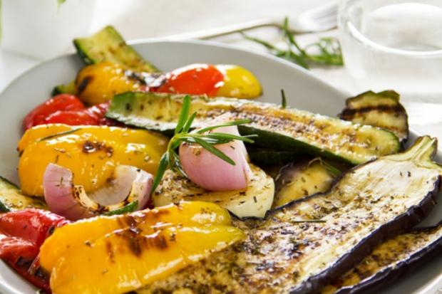 Зеленчукови ястия със зехтин и сусамово масло