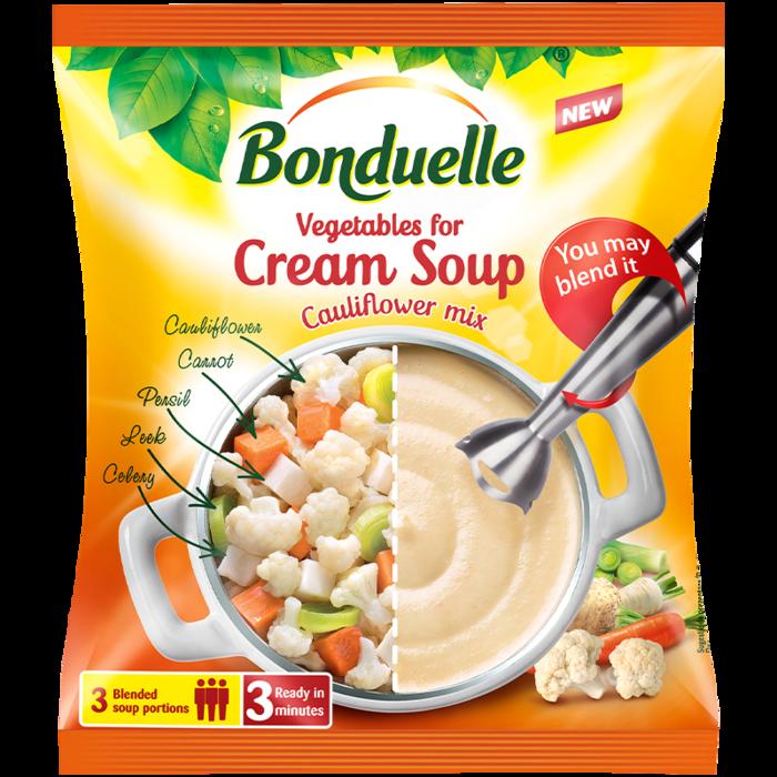 Зеленчуков микс за крем супа с карфиол 400 г