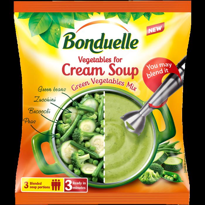 Зеленчуков микс за крем супа със зелени зеленчуци 400 г