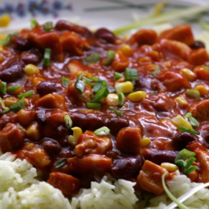 Ориз с боб по карибски