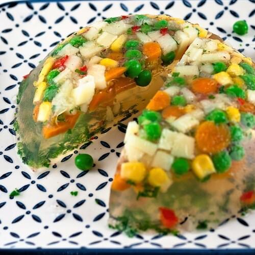 Зеленчуково желе