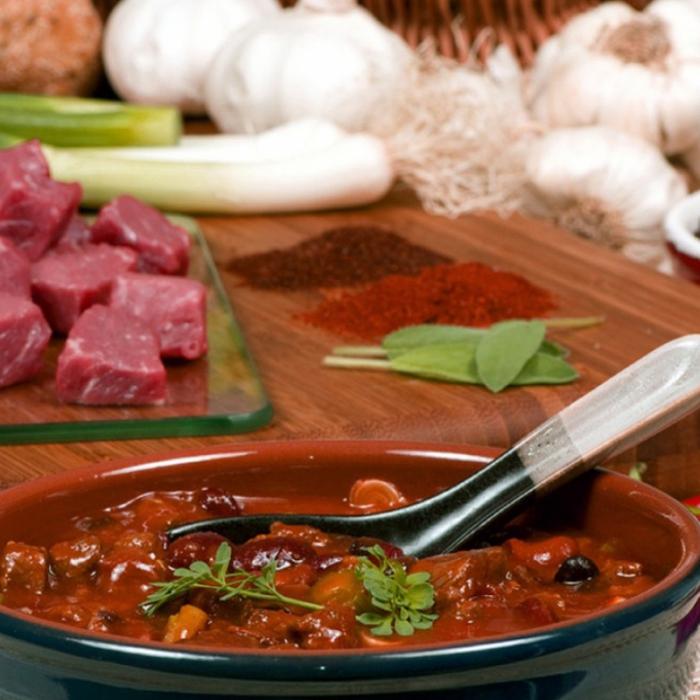 Египетска супа с месо Fatta