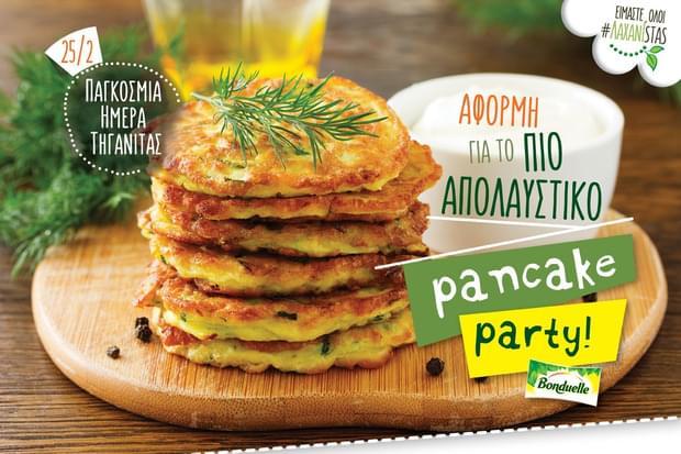 Παγκόσμια Ημέρα Τηγανίτας:  Αφορμή για το πιο απολαυστικό ΛΑΧΑΝΙSTAS Pancake Party!