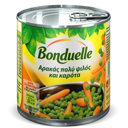 Πολύ ψιλός αρακάς και καρότα
