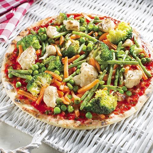 Ανοιξιάτικη Πίτσα