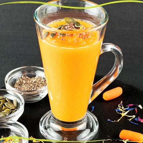 ΛΑΧΑΝΙSTAS Τονωτικό smoothie καρότο μάνγκο