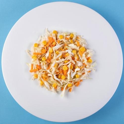 სალათის ასორტი იოგურტის დრესინგით