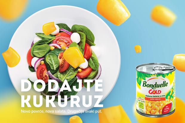 Novo povrće, nova salata. Drugačija svaki put