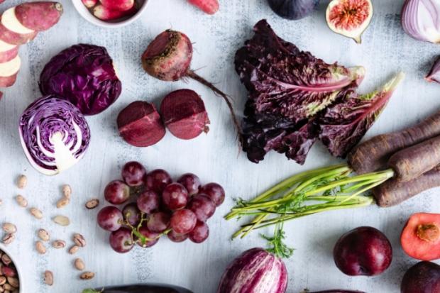 Ljubičasto povrće i voće