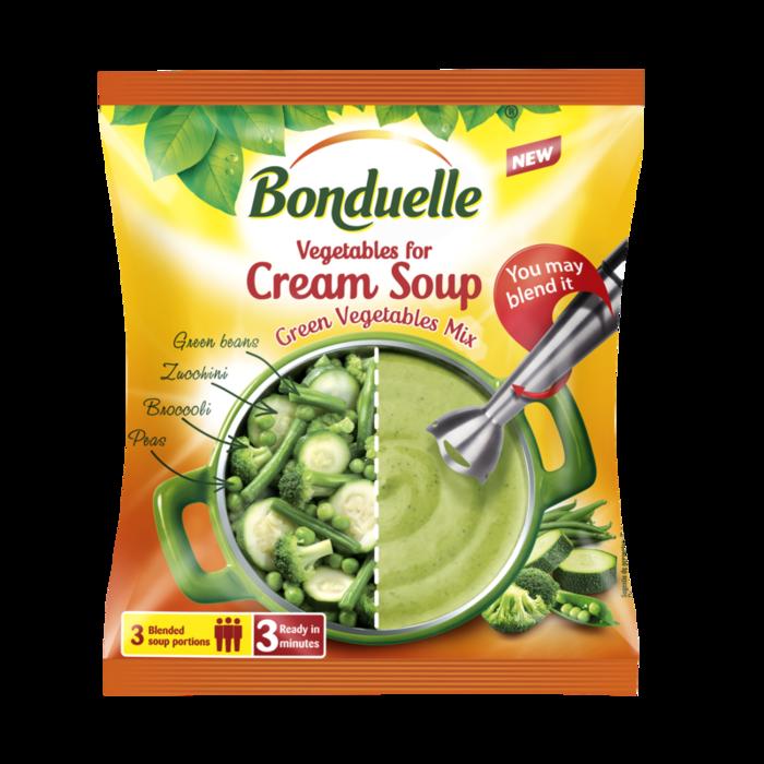 Mješavina povrća za krem juhu od zelenog povrća