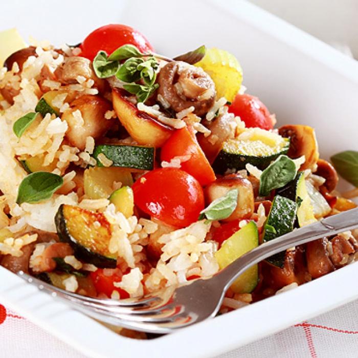 Rižoto s rižom i povrćem