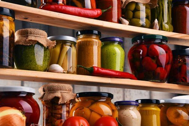 Provizii practice de legume pentru iarnă