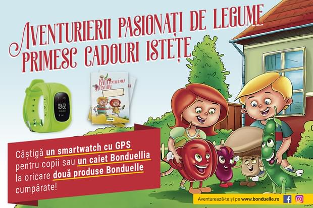 Campanie Aventurierii pasionați de legume primesc cadouri!