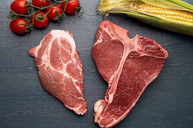 Află conținutul caloric al produselor din carne