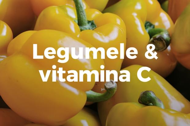 Legumele care conțin cea mai mare cantitate de vitamina C