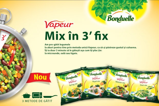 Vapeur – Mix în 3 minute fix!