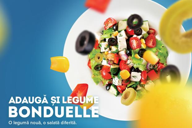 Adaugă și legume Bonduelle