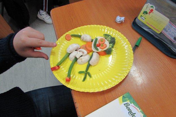 """Copiii învață despre importanța legumelor cu Bonduelle în cadrul programului național """"Școala Altfel"""" 2016"""