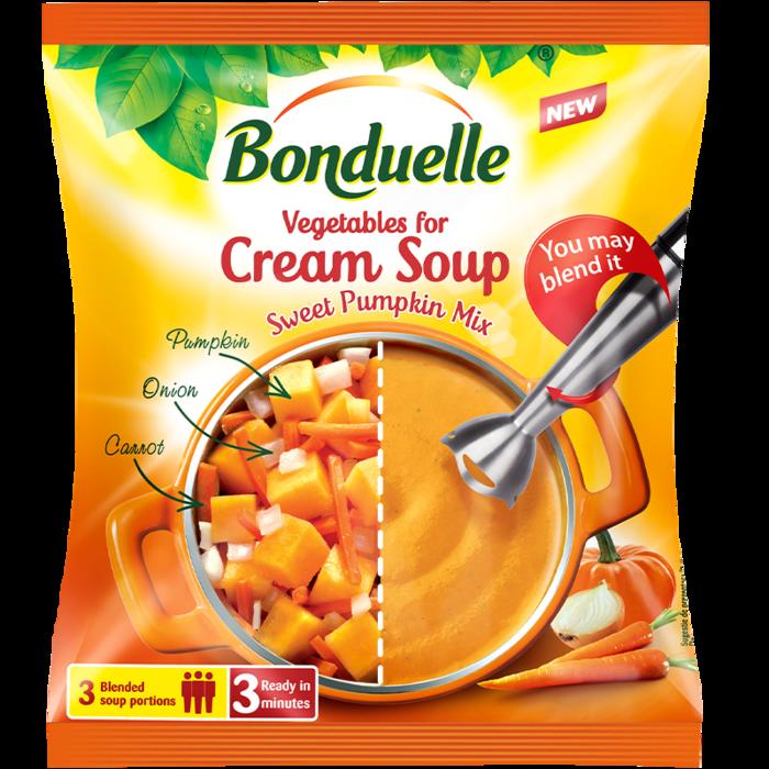 Amestec de legume pentru supă cremă de dovleac