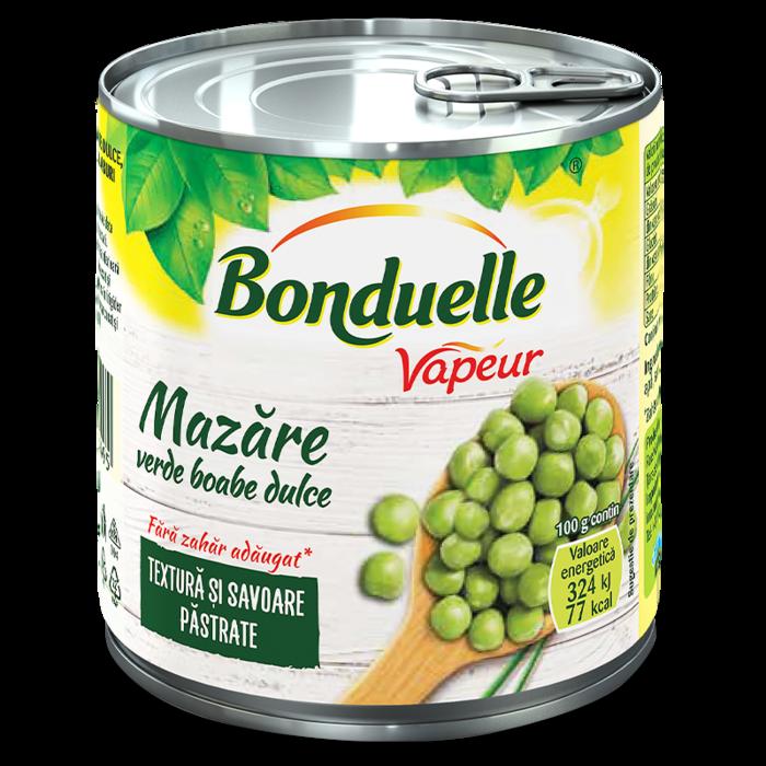 Mazăre verde dulce boabe Vapeur