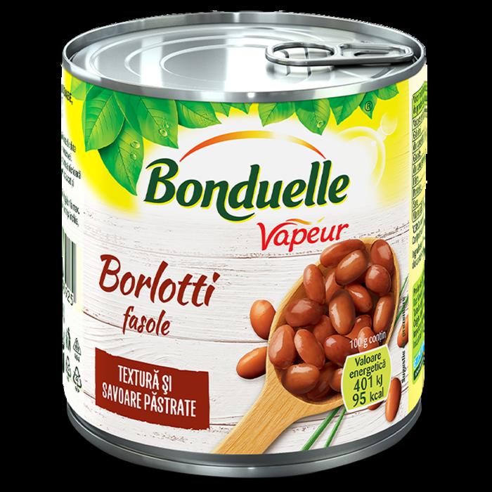 Fasole Borlotti Vapeur