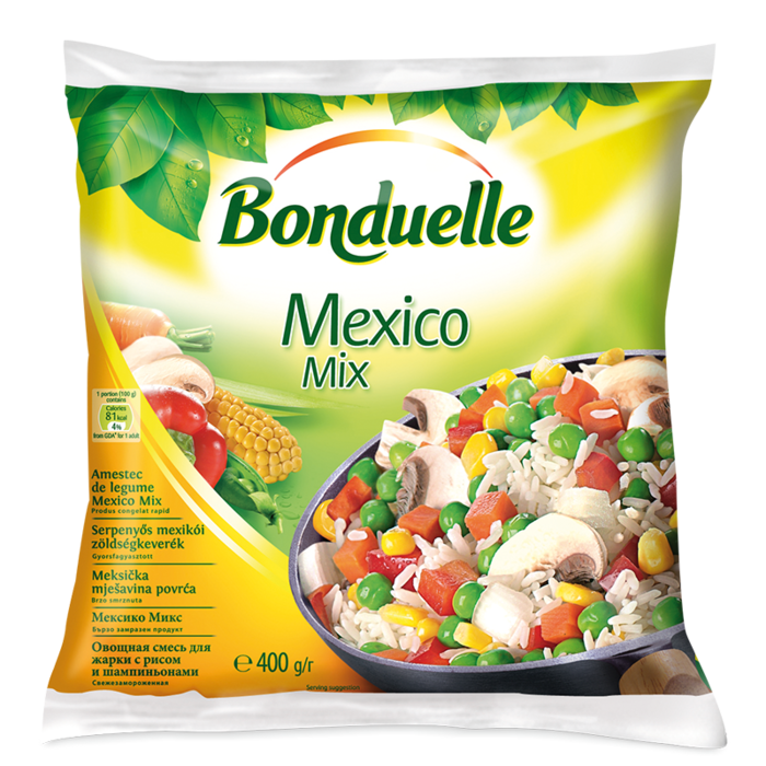 Amestec de legume cu orez Mexico Mix