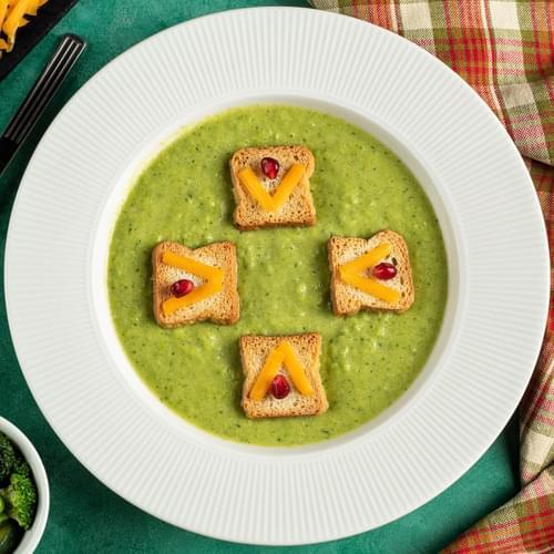 Supă cremă de legume verzi