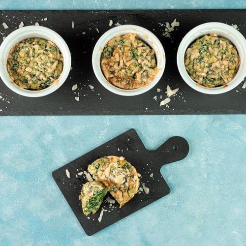 Souffle cu spanac