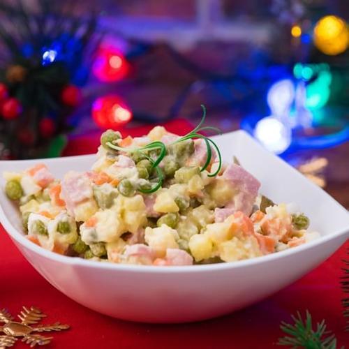 Salată boeuf cu conopidă