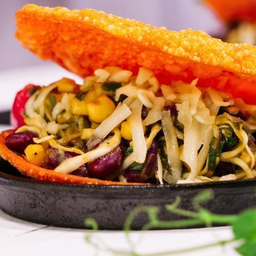 Tacos cu fasole roșie