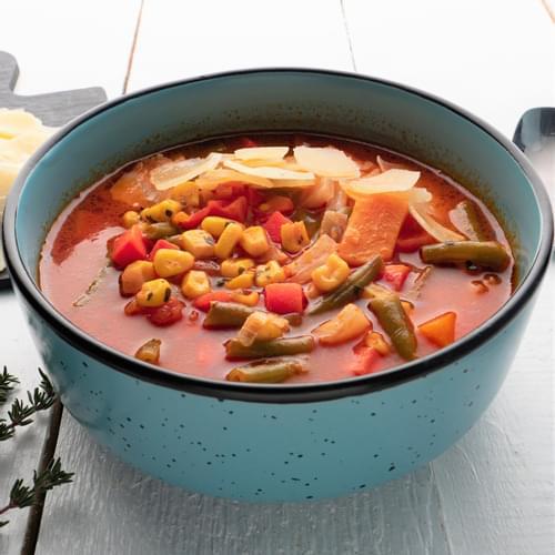 Supă Minestrone cu dovleac