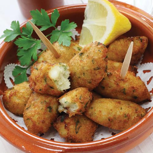 Bacalhau - cod din Portugalia cu cartofi fierți