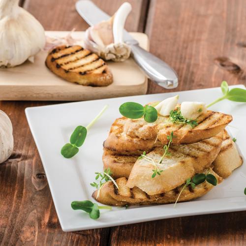 Baghetă franțuzească cu usturoi