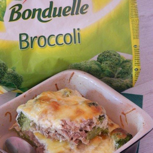 Broccoli cu ton la cuptor
