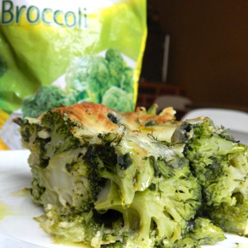 Budincă cu broccoli