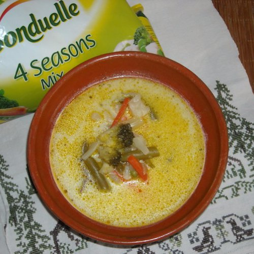 Ciorbă cu legume Bonduelle
