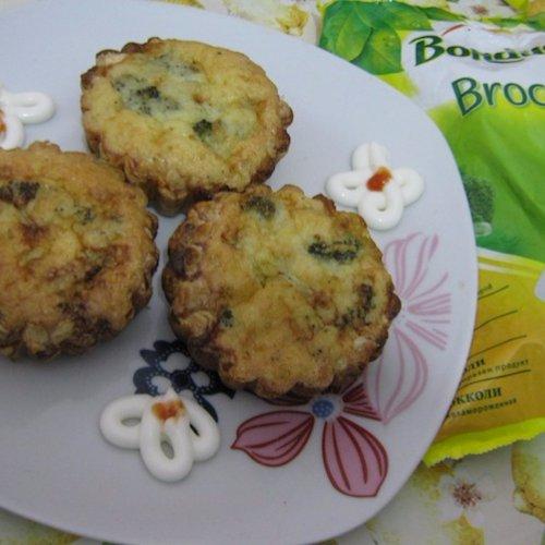 Coșulețe cu broccoli