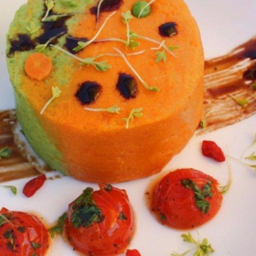Duo Mousse de mazăre și morcovi