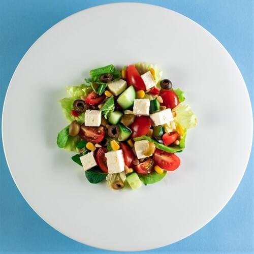 Salată cu mix Mediteraneean