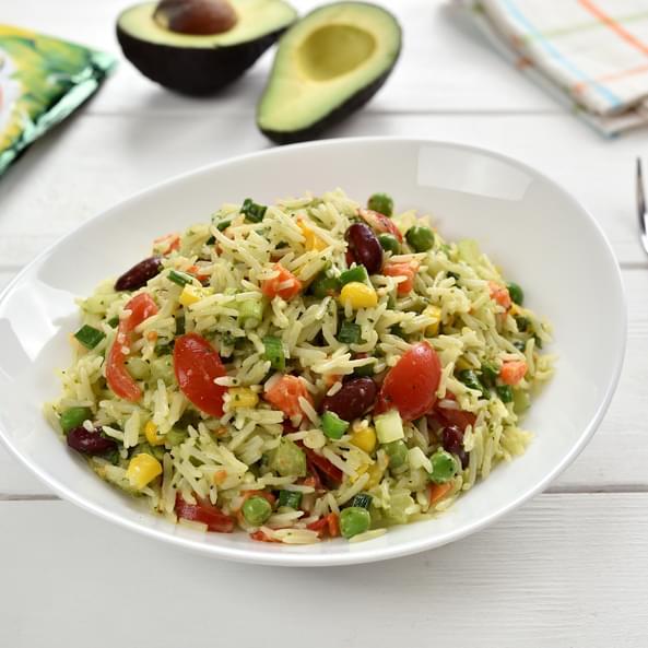 Salată mexicană cu orez