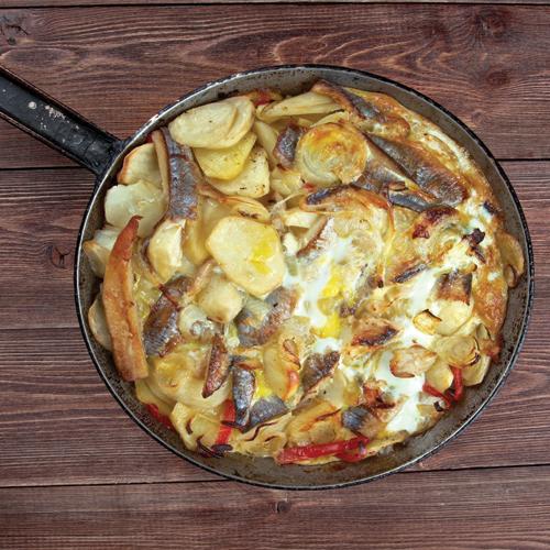 Kalalaatikko - pește la cuptor cu cartofi franțuzești