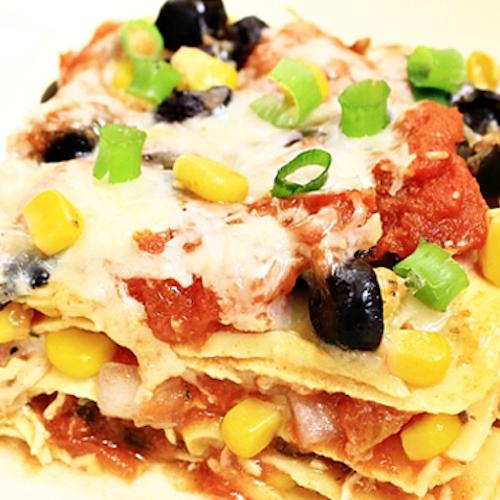 Lasagna cu porumb