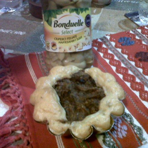 Muffins cu ciuperci